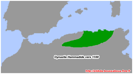 Les Hammadides vers 1100